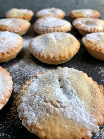 super quick mince pies